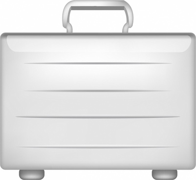 clipart royalty free library Briefcase free vector download