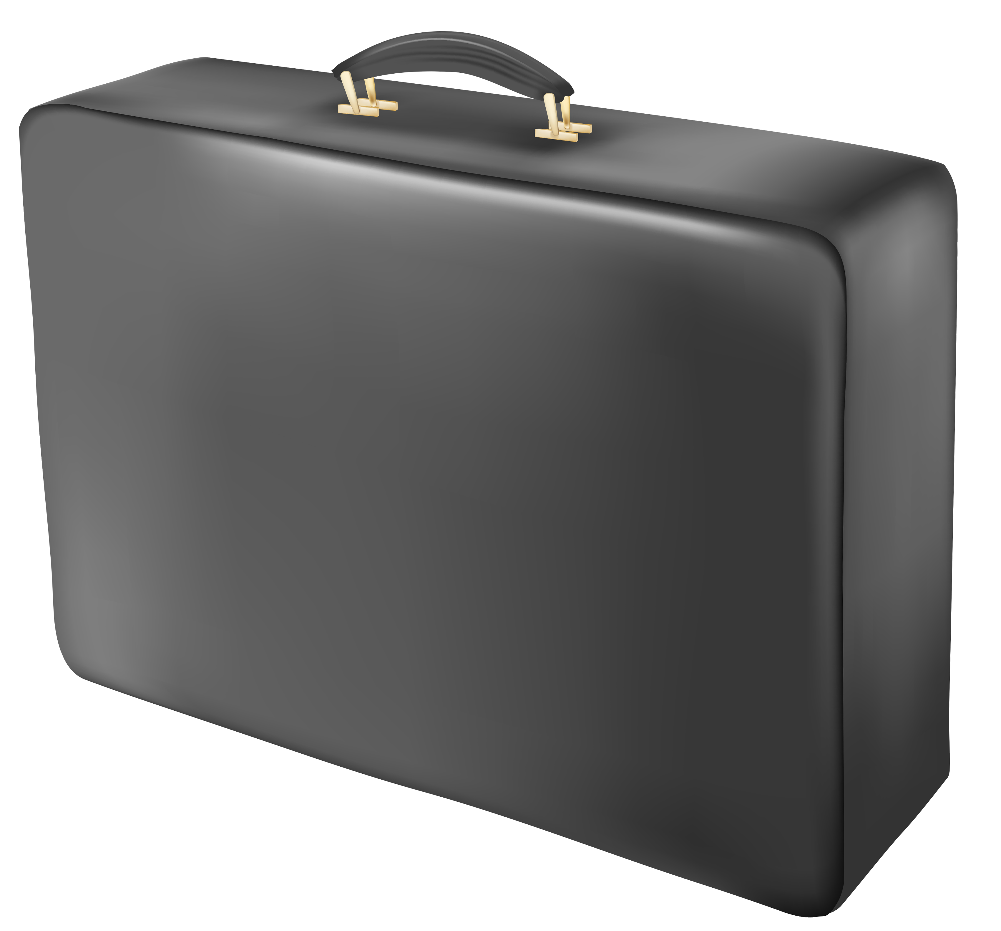 clip art royalty free Suitcase Black PNG Image