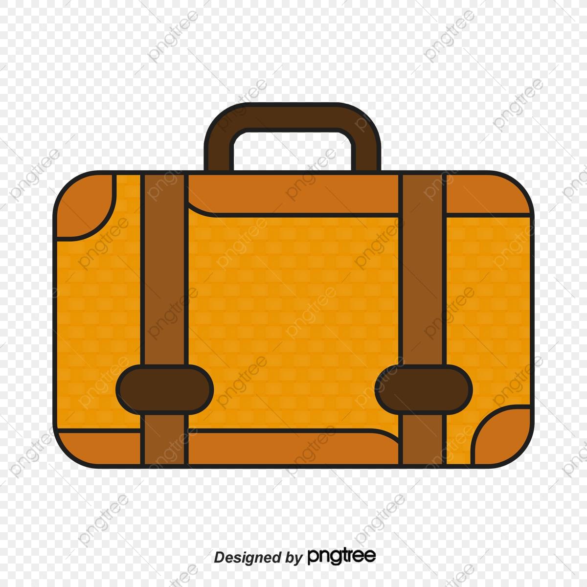 clip royalty free Cartoon bag vector . Briefcase clipart travel case.
