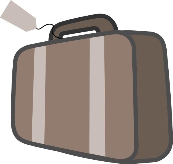 clipart transparent library Briefcase clipart travel case. .