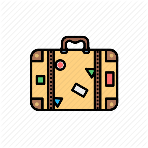 image freeuse library Camping and adventure by. Briefcase clipart travel case