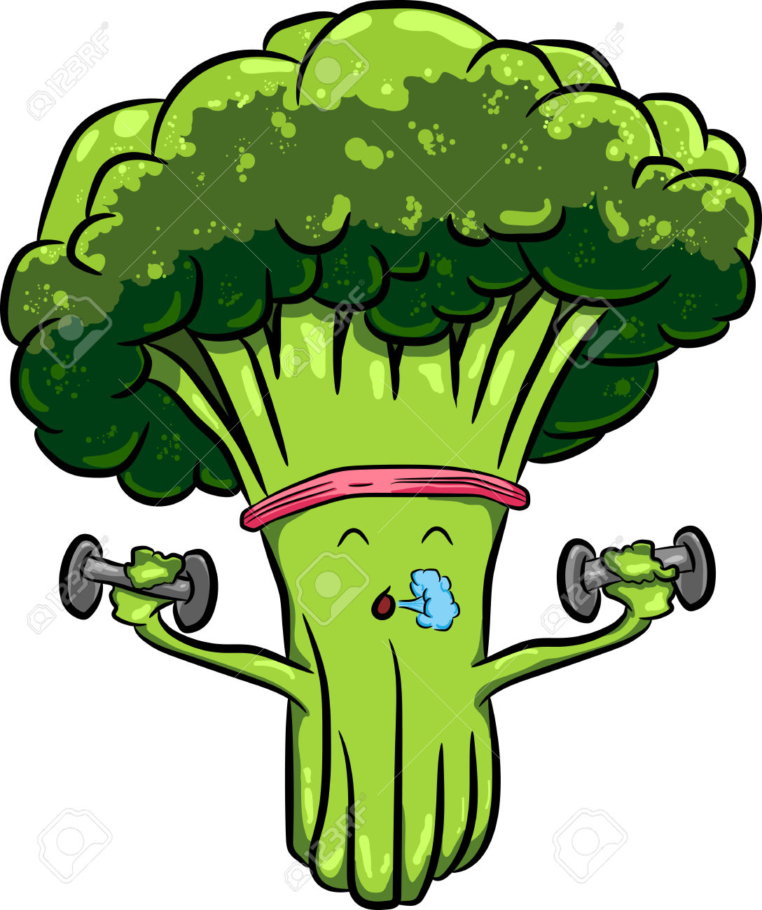 vector free For free images . Broccoli clipart