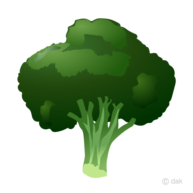 vector stock Free picture illustoon . Broccoli clipart
