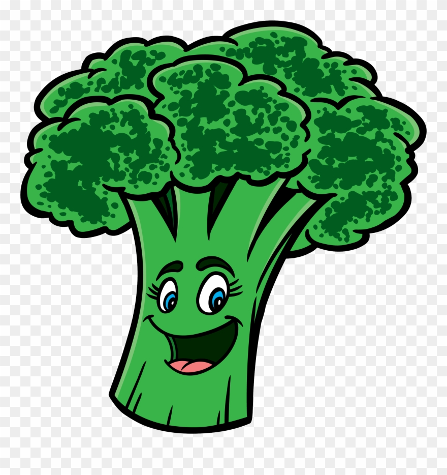 picture library library Broccoli clipart. Cartoon pinclipart