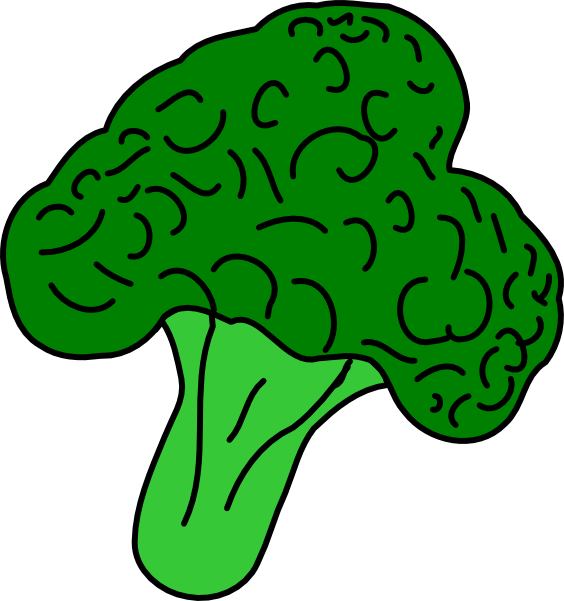 clip art free library Clip art at clker. Broccoli clipart