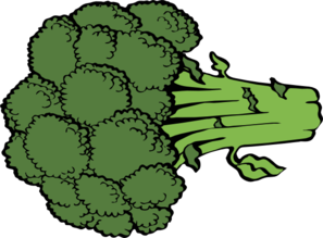 svg freeuse Broccoli clipart. Clip art at clker