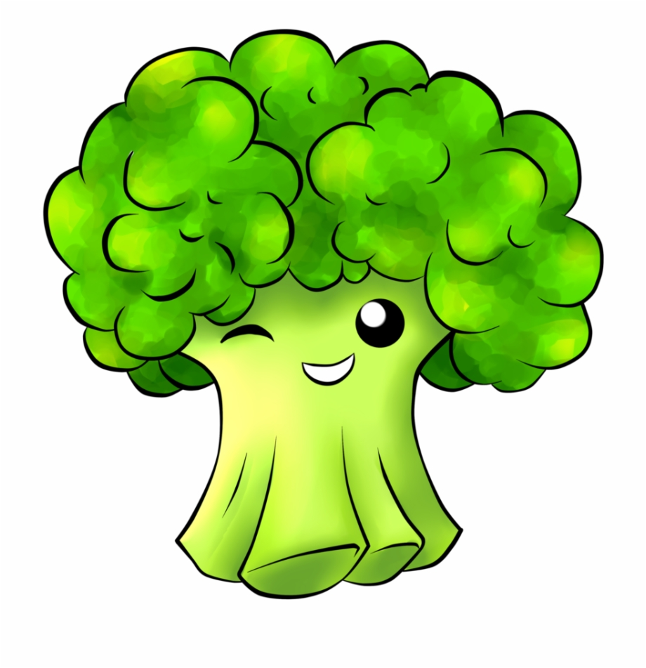 image black and white download Animated cute png clip. Broccoli clipart cartoon.