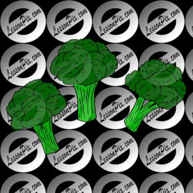 clip art transparent stock Broccoli Picture for Classroom