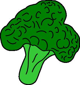 banner transparent library Broccoli Clip Art at Clker