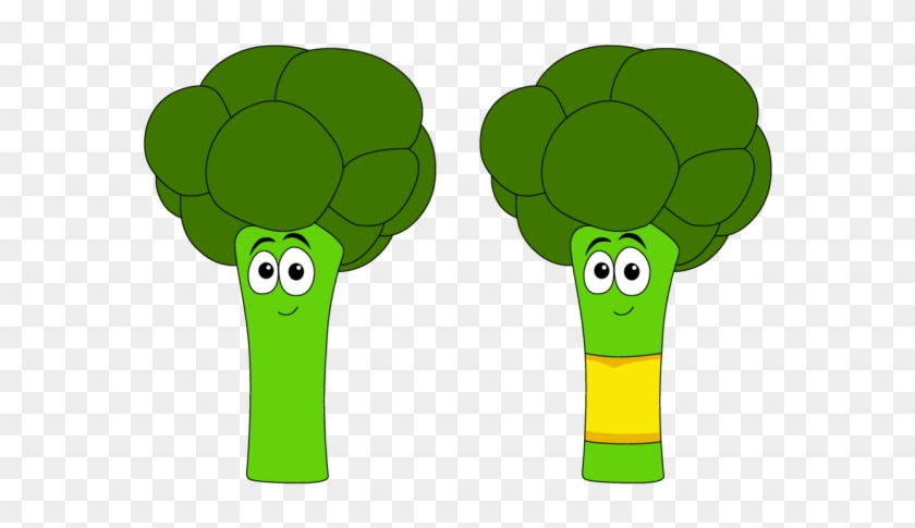 picture black and white library Something cartoon hd png. Broccoli clipart draw.