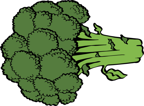 picture free download Broccoli clipart draw. Clip art at clker
