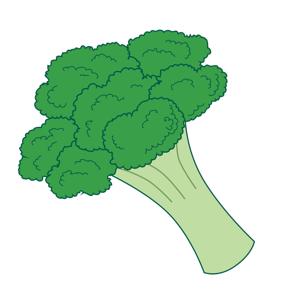png royalty free library Pin by courtney patterson. Broccoli clipart green thing.