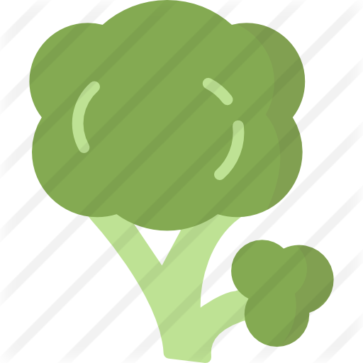 vector transparent library Broccoli clipart green thing. Free food icons.