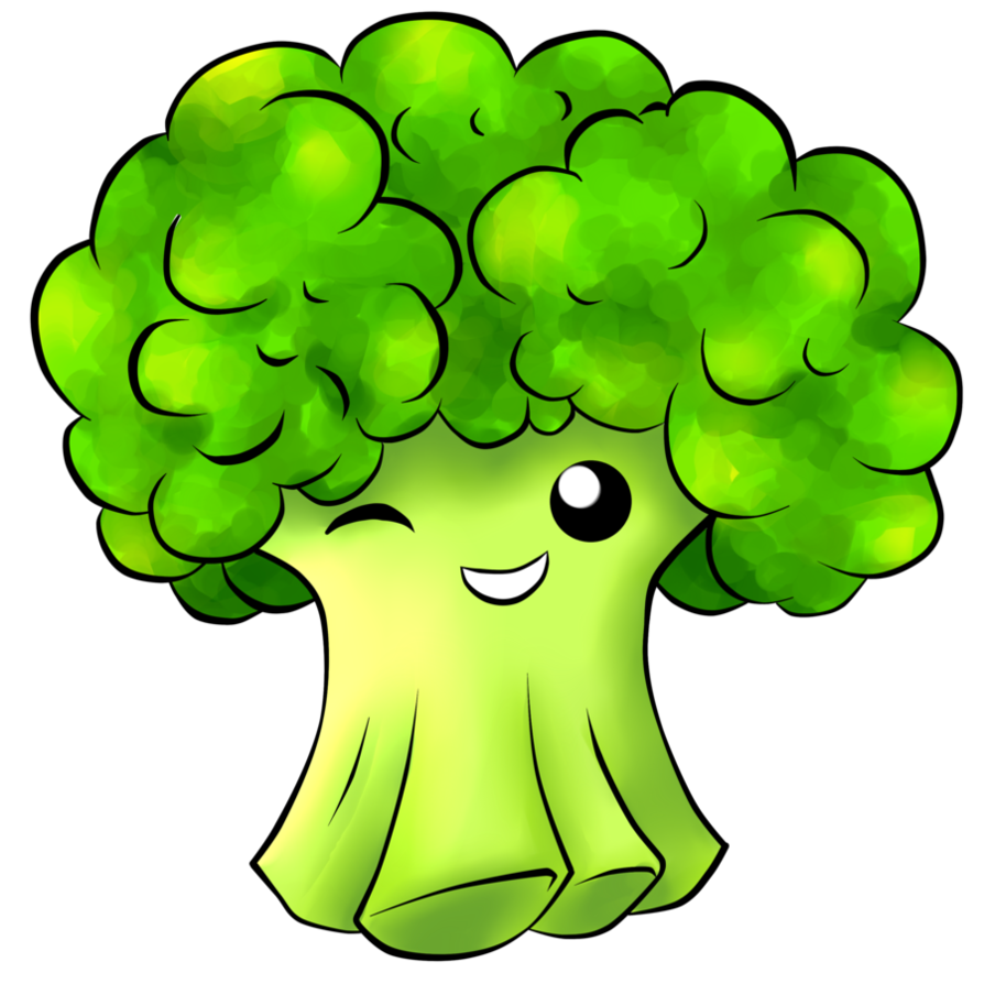 jpg black and white stock Cute free on dumielauxepices. Broccoli clipart lettuce.