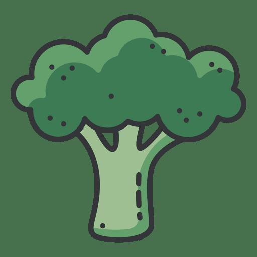 clip art transparent stock Broccoli color icon