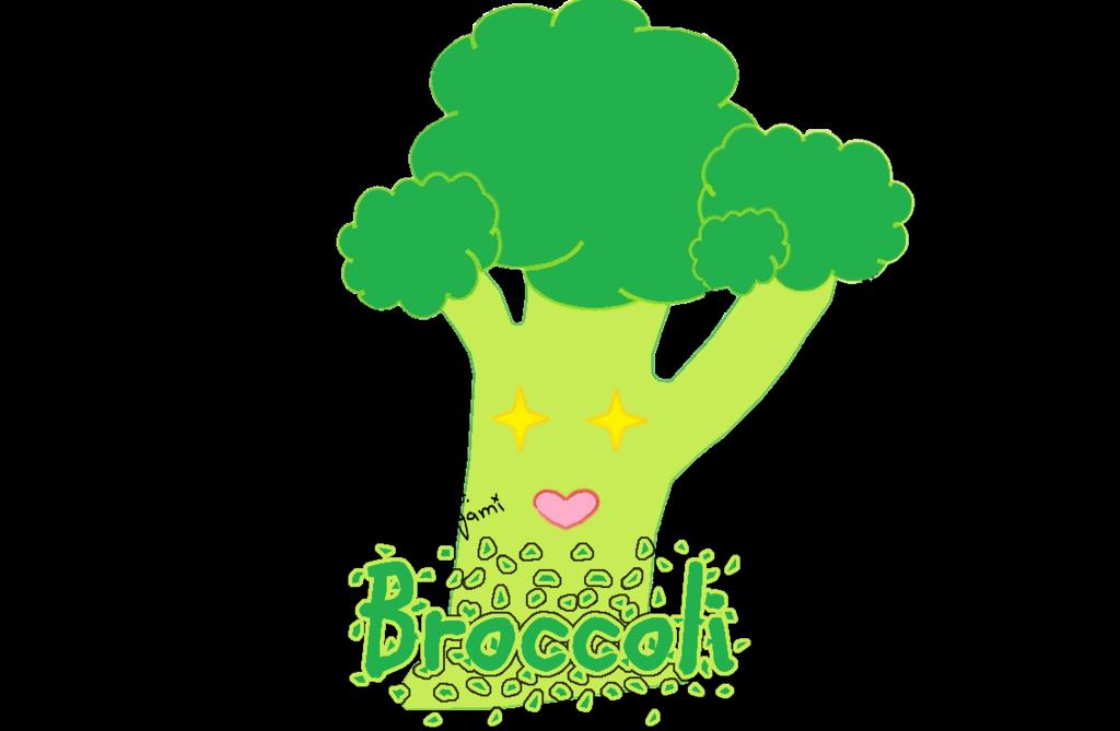 image transparent download Chibi Broccoli by Jack