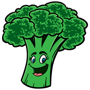 image freeuse Black and white free. Broccoli clipart vector.