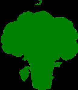 graphic transparent download Green Broccoli Clip Art at Clker
