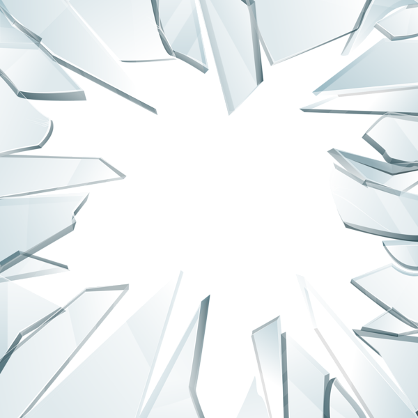vector freeuse library  collection of glass. Broken clipart broken window.