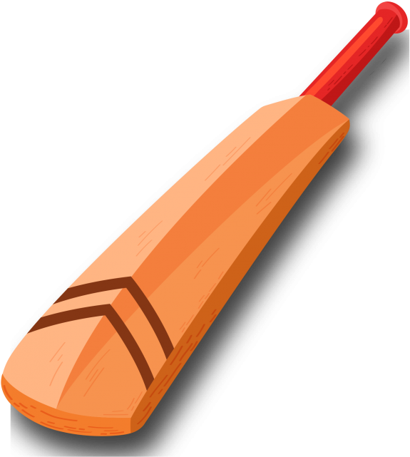 vector freeuse Images png download on. Broken clipart cricket bat