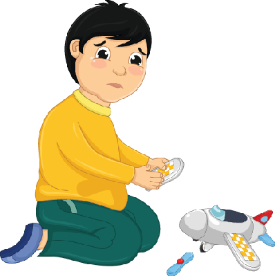 clip art free download Broken clipart fortuitous. Boy with his toy