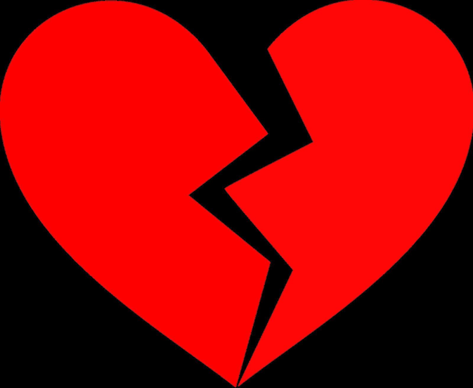 image transparent Broken clipart intact. Heart