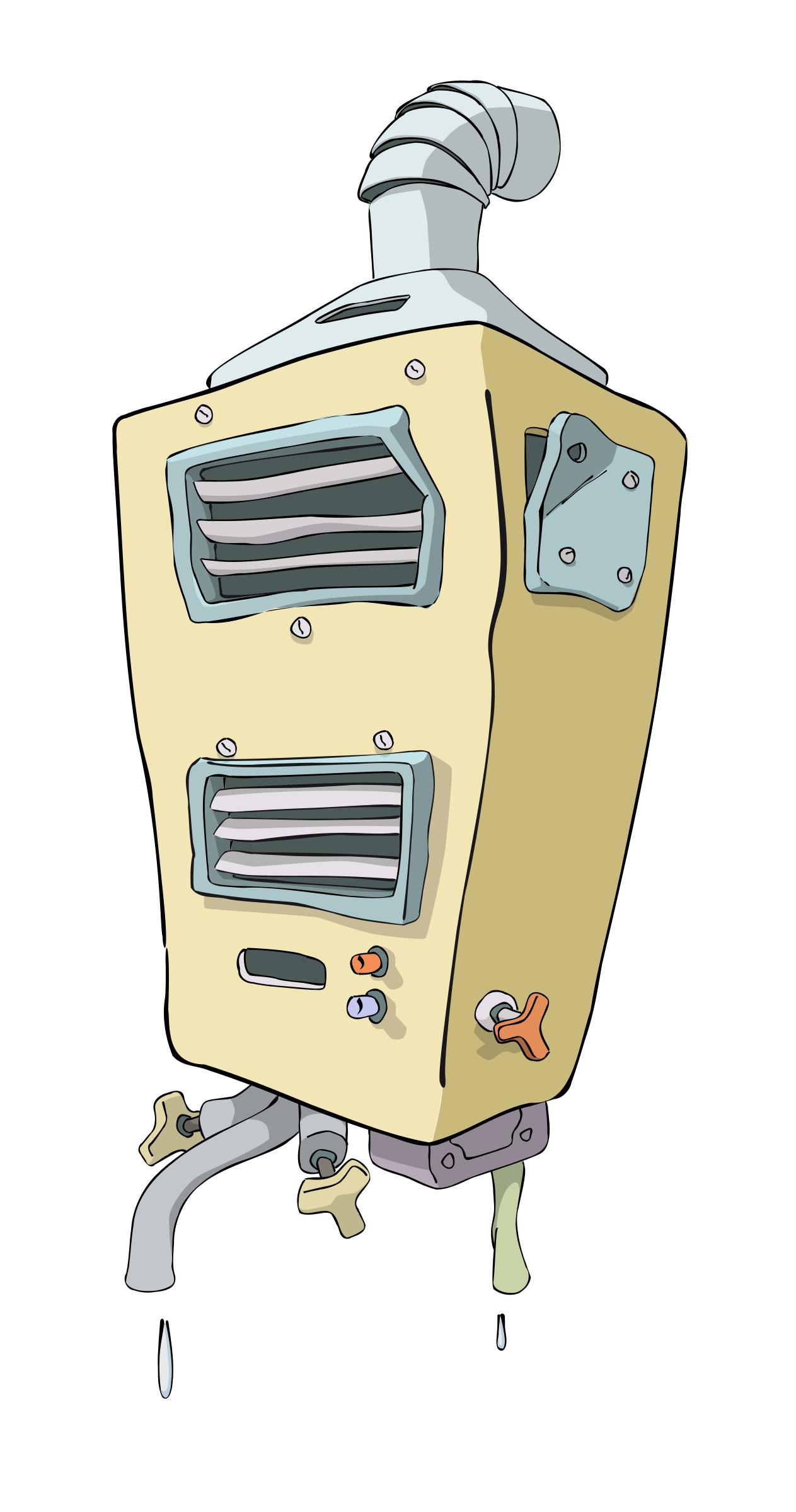 clipart library Broken clipart intact. Water heater big image