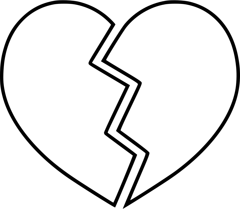 transparent Drawing pain broken girl. Heart love romance transprent