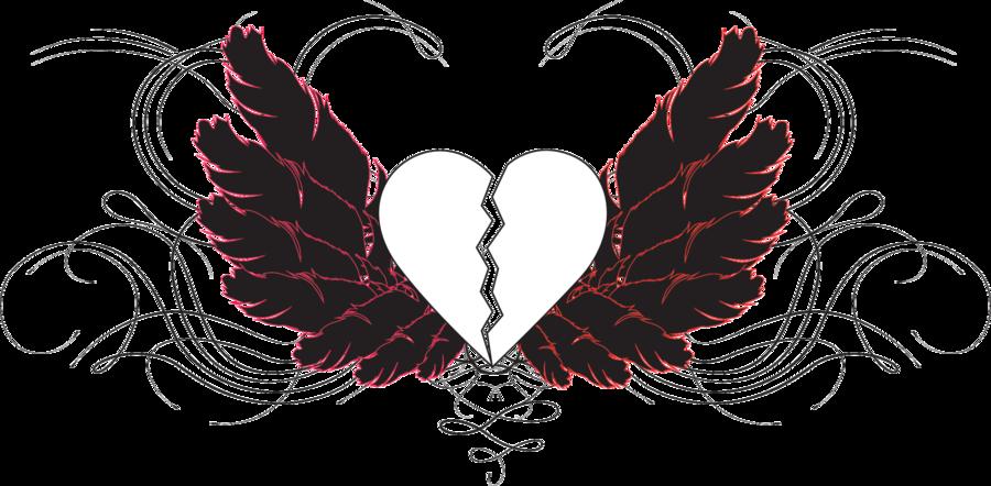 svg library stock Emo Broken Heart by AkatsukixShihana on DeviantArt