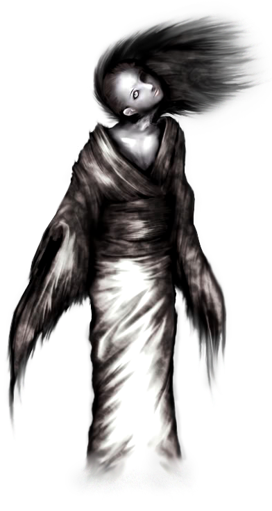 clipart freeuse stock Drawing necks woman neck. Broken fatal frame wiki