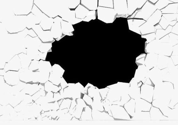 graphic freeuse library Broken wall clipart. Material png