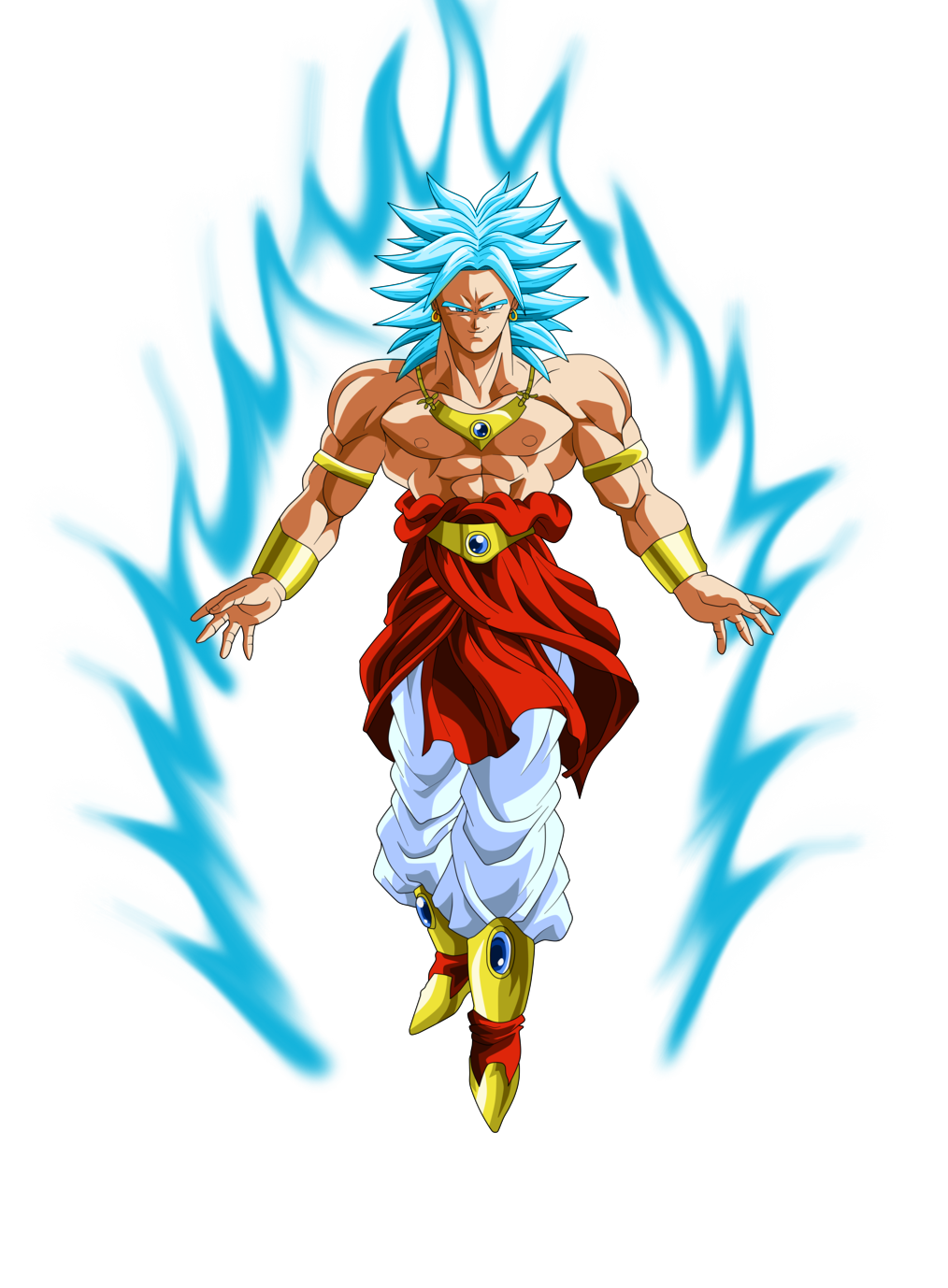 download Broly SSJ Blue by alphagreywind on DeviantArt