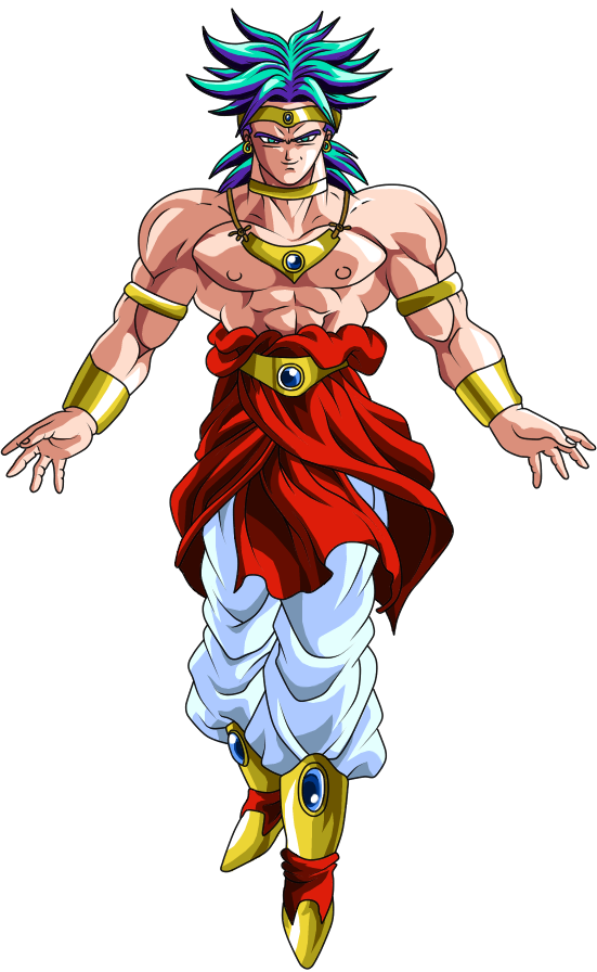 svg royalty free Broly ssj blue hair by D