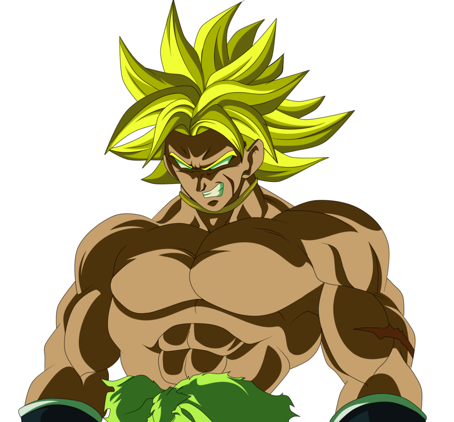image royalty free library BROLY DBS THE MOVIE