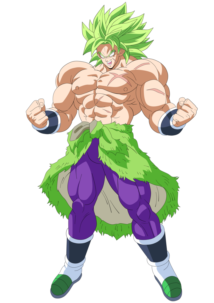 picture royalty free library Broly Movie