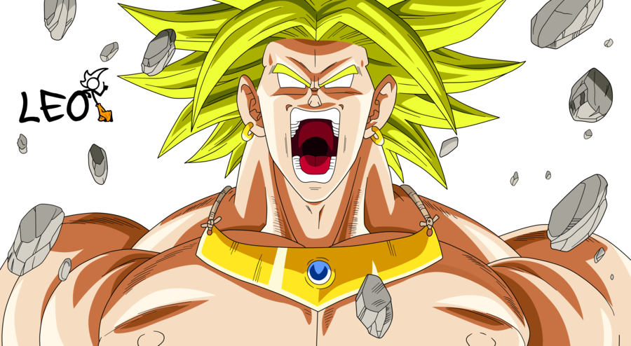 picture free library Angry Broly by Link