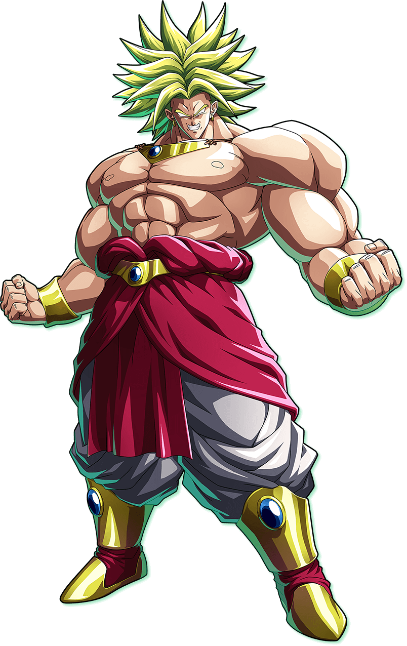 clip transparent download Broly DBZF