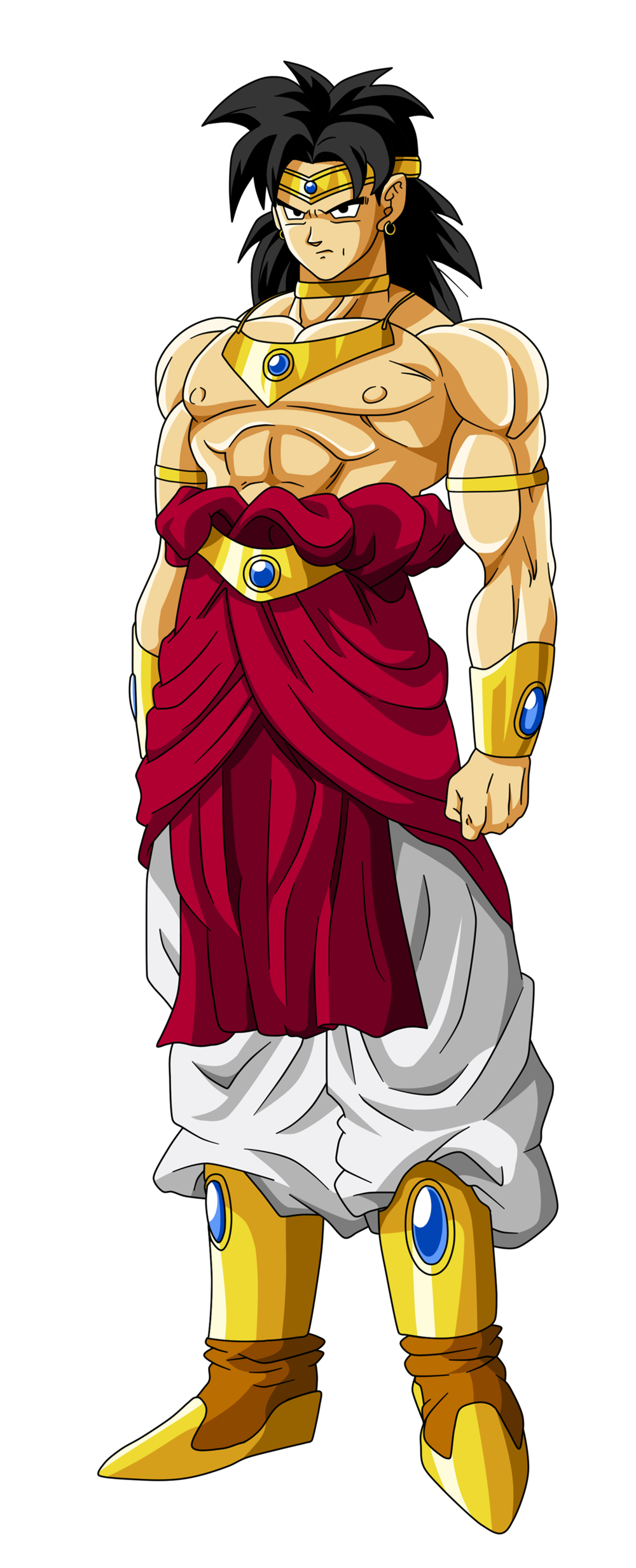 picture royalty free broly transparent kai #90967522