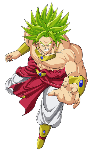 svg free broly transparent legendary #90959332