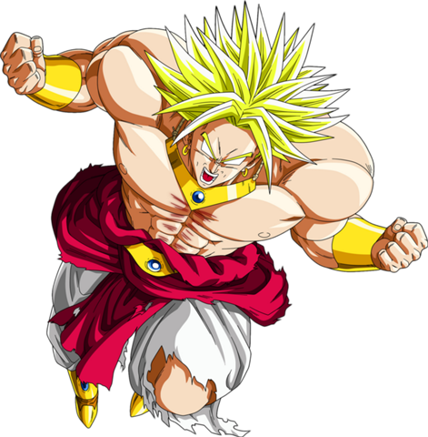clip art library download broly transparent lss #90958562