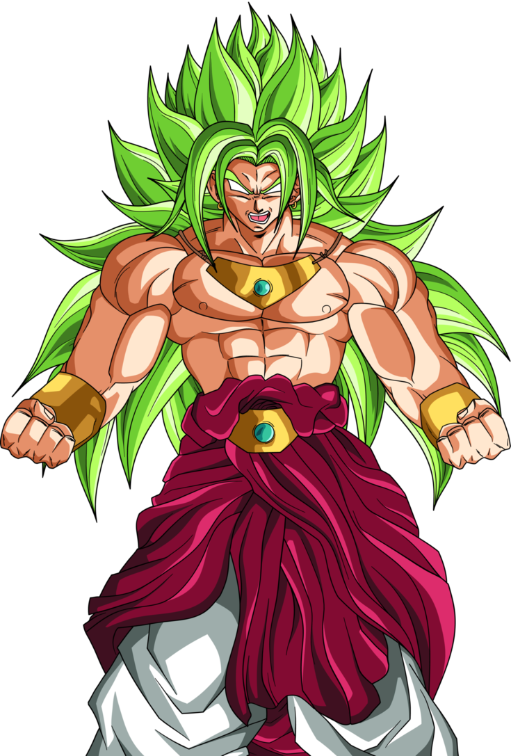 clip art royalty free Broly God by DragonBallAffinity