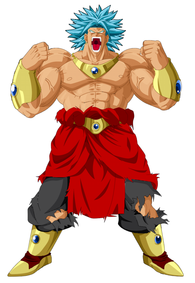 transparent Broly SSB