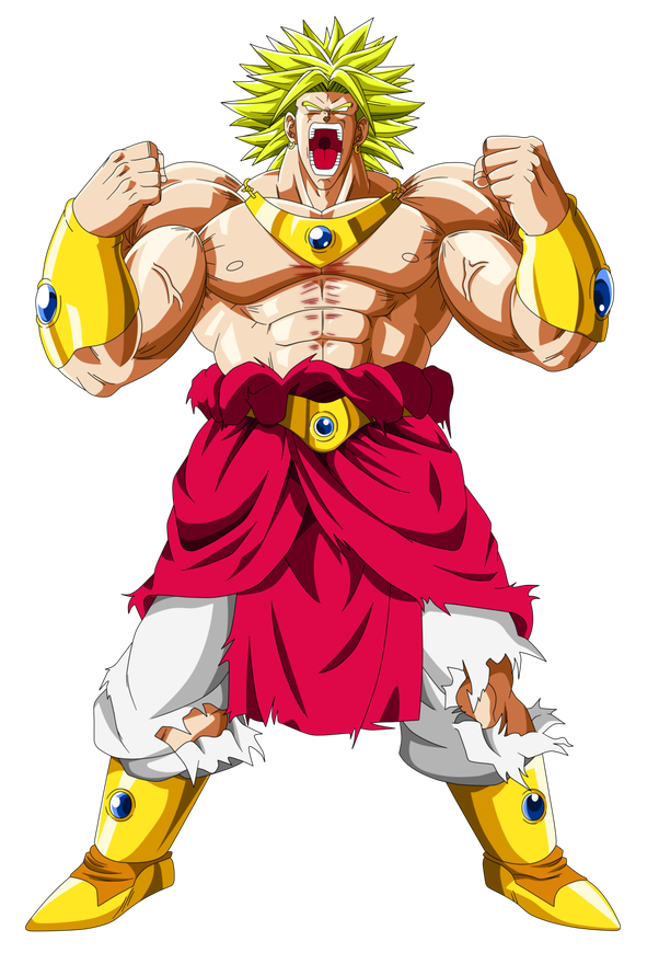 image library download Broly transparent ssj. Which of these two