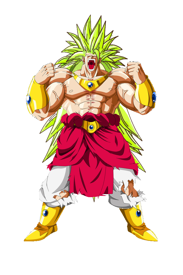 png royalty free library dragon ball BROLY SSJ