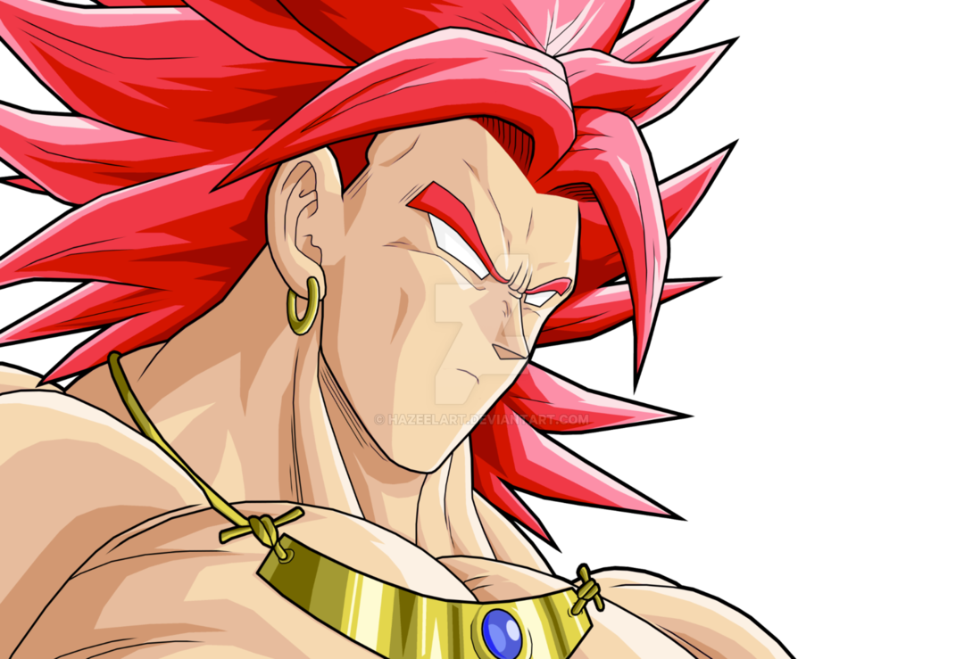 banner freeuse library Broly Legendary Super Saiyan God by HazeelArt on DeviantArt
