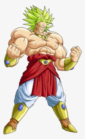 clip art transparent stock Broly PNG