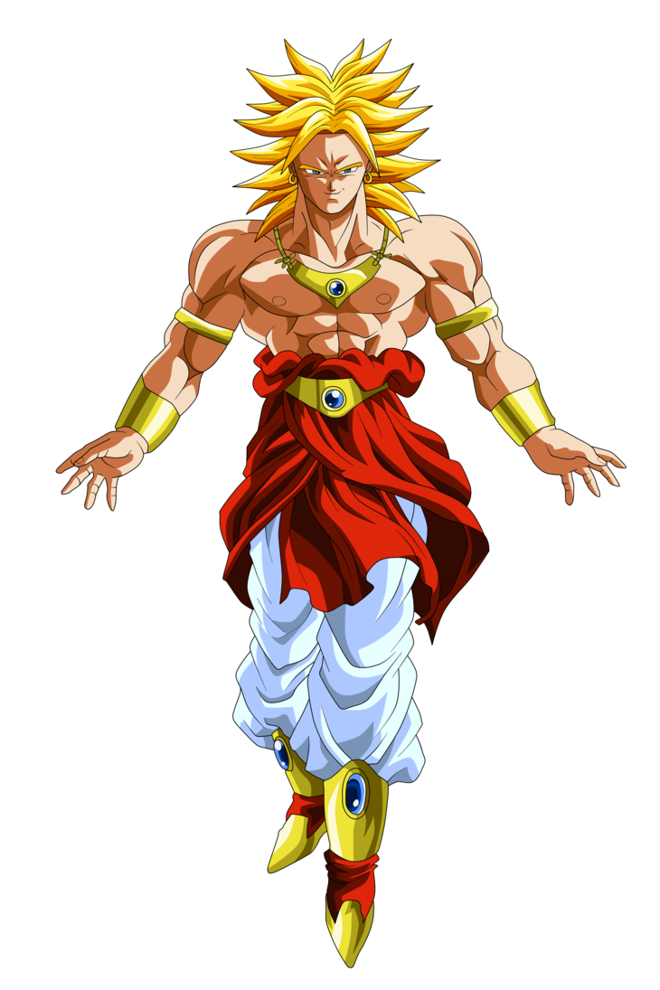 svg freeuse stock broly transparent suppressed #90963839