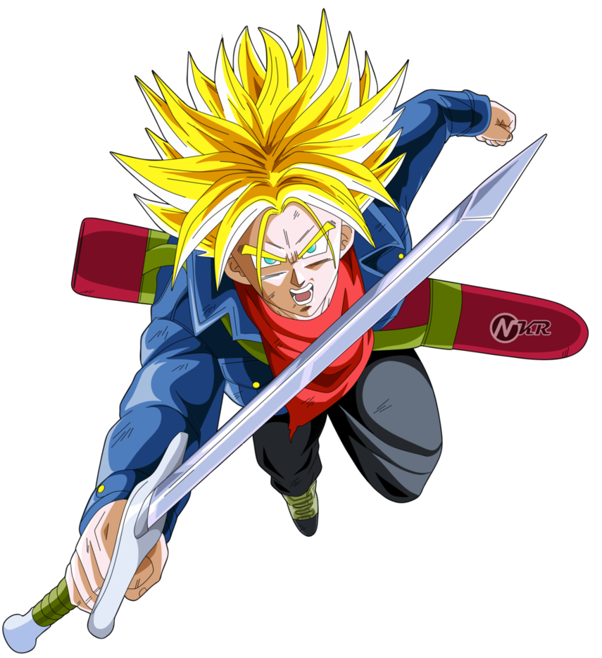 jpg transparent stock DBS Future Trunks VS DBZ Movie