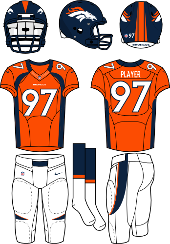 image library download Denver Broncos Home Uniform