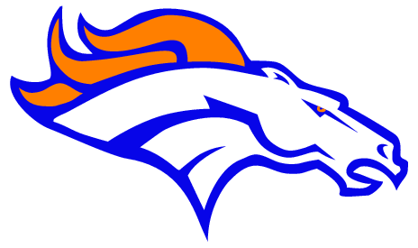 vector library Denver Broncos Silhouette at GetDrawings
